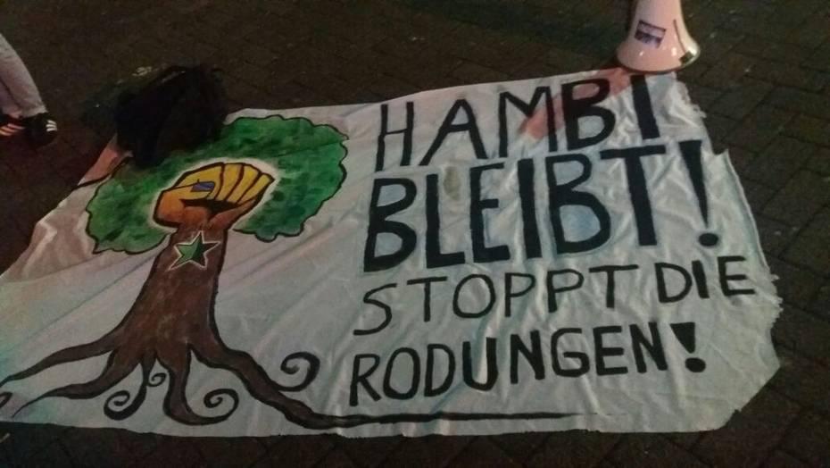Bildergebnis für youtube räumung hambacher forst und widerstand am 16.09.18